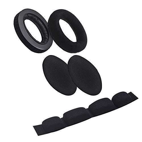 Ersatz-Ohrpolster, Kopfband-Abdeckung aus Schaumstoff, weich, für Sennheiser HD545 HD565 HD580 HD600 HD650