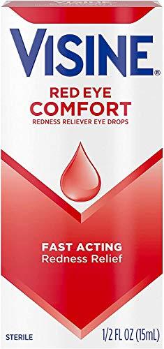 Visine, Redness Relief, Irritation Eye Drops Original, 0.5 fl oz by Visine