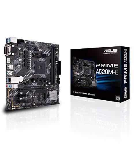 ASUS AMD A520 搭載 Socket AM4 対応 マザーボード PRIME A520M-E 【MicroATX】
