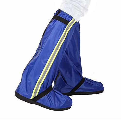 Lixada Couvre-Chaussures imperméable Durable Bottes de Pluie réutilisables antidérapantes, Guêtres de randonnée, résistantes à l'eau Couvre-Chaussures pour Hommes Femmes,