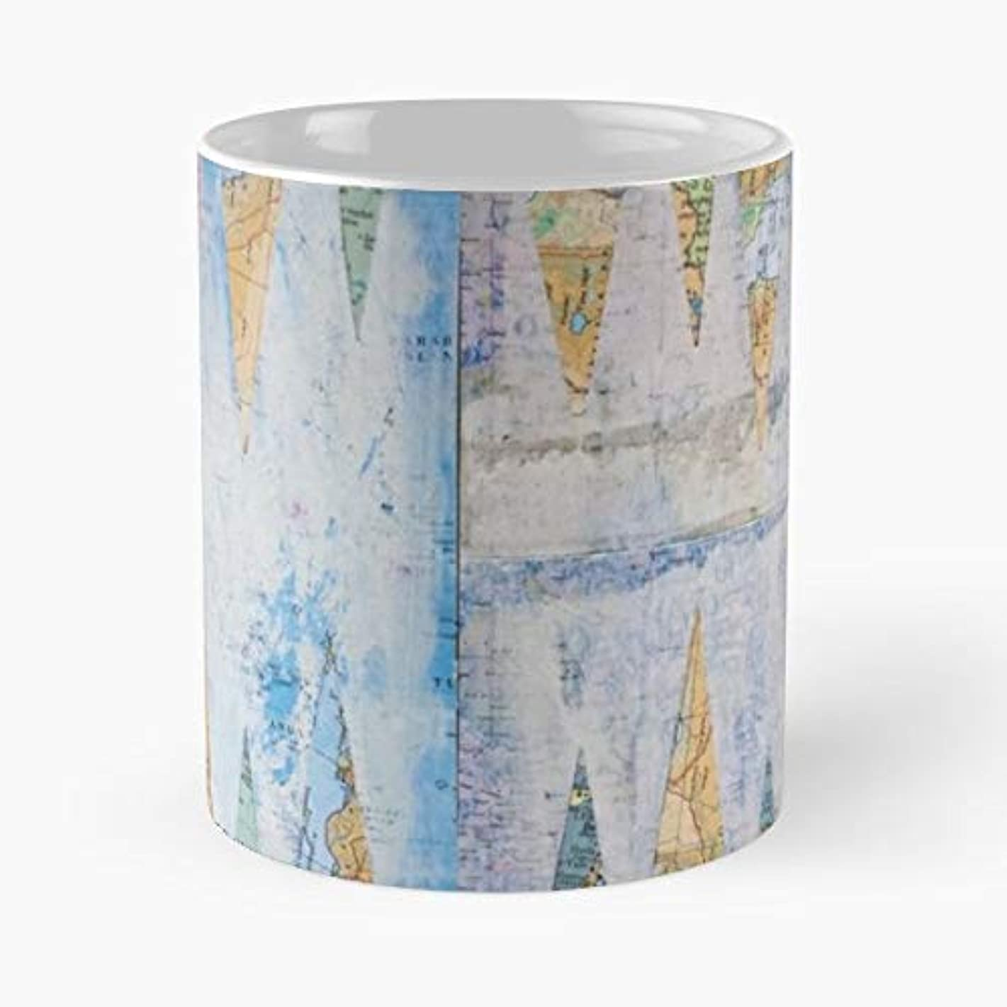 Maps Backgammon Collage - 11 Ounce For Coffee, Tea, Cocoa And Mulled Drinks, The Best Gift Holidays.
