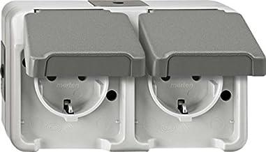 Import Allemagne Merten 486160 M-PLAN Cadre de finition simple Aluminium