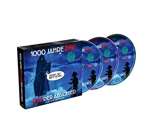 1000 Jahre EAV Live - Der Abschied (3CD Digipak)