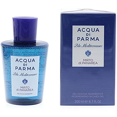Acqua di Parma Blu Mediterraneo - Gel Doccia Mirto di Panarea, Rigenerante - 200ml