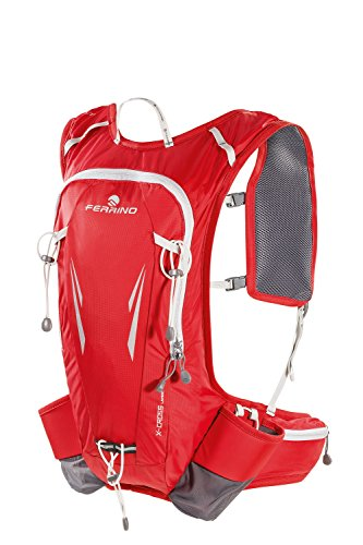 Ferrino X-Cross Sac à Dos Running, Rouge, 12 litres