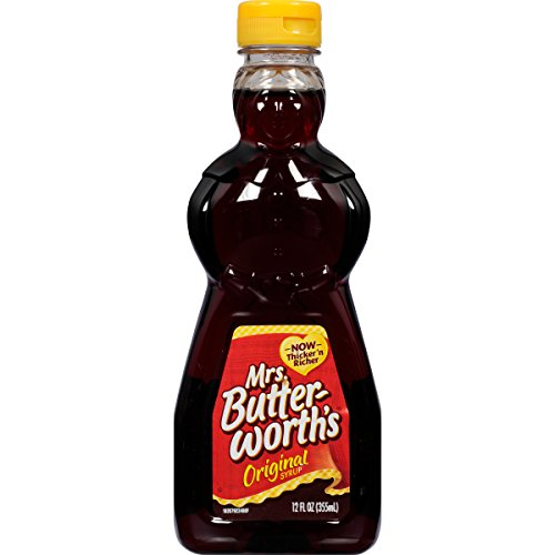 Mrs Butterworth#039s Original Thick and Rich Pancake Syrup 12 oz