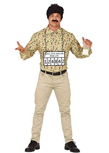 Magic Box Mens Pablo Escobar Style Schmuggler Kostüm Large (42-44