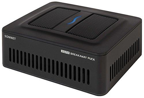Sonnet Technologies GPU-RX570-TB3 Grafikkarten-Gehäuse schwarz  (Mac & Windows Compatible)