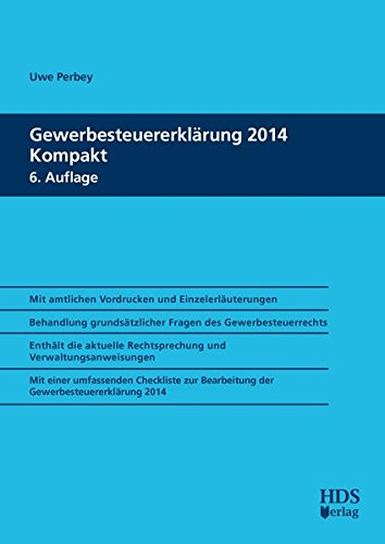 Gewerbesteuererklärung 2014 Kompakt