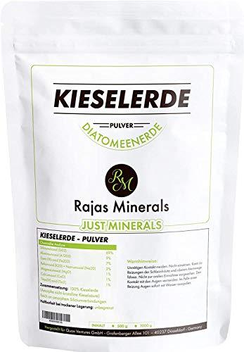 100% reine Kieselerde (500g Pulver) frei von Zusatz-, Konservierungs- und Füllstoffen
