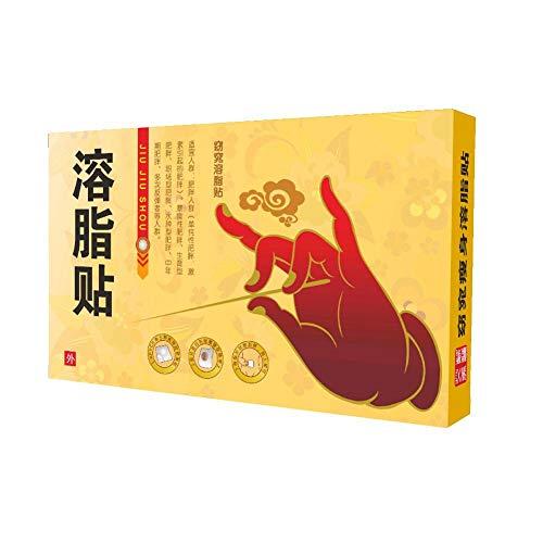 10Pcs Parche delgado Etiqueta de pérdida de peso Parche adelgazante del vientre Parches adelgazantes para quemar grasa Parche adelgazante rápido para cubos de vientre de cerveza Cintura Cintura