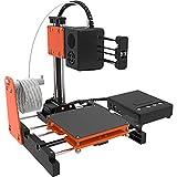 NantFun Mini 3D-Drucker Kleiner 3D-Drucker für Kinder und Anfänger, schnelles Erhitzen, geräuscharm, Druckgröße 4 '× 4' × 4 ', freies 10 m - 1,75 mm Testfilament, schwarz-orange