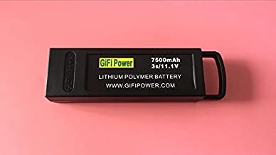 GIFI POWER 7500mAh 3S LiPo Battery for YUNEEC Q500 / Q500+ / Q500+PRO / Q5004K / Yuneec Q500 4K Typhoon G RC Drone
