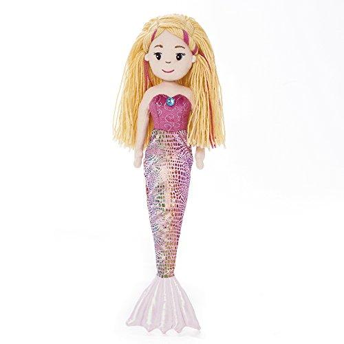 Mermaid Sea Sparkles Aurora Meerjungfrau Nixe Stoffpuppe Mädchen Puppe Plüsch: Art: Melody 45,5 cm