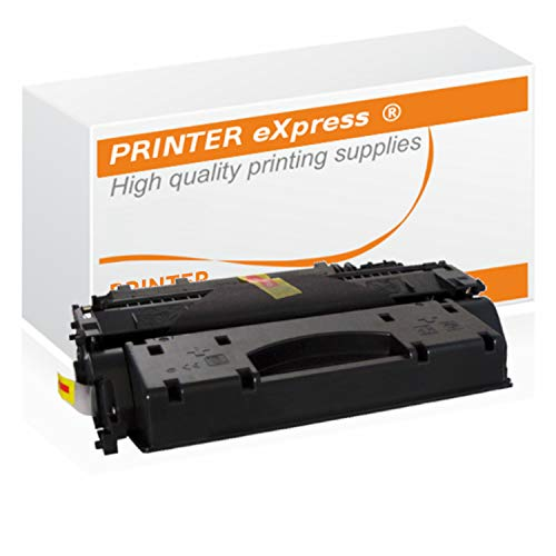 Printer-Express XL Toner ersetzt HP CF-280X, CF280-X, 80X für HP LaserJet Pro 400 M-401, M-401A, M-401D, M-401DN, M-401DNE, M-401DW, M-401N, MFP M-425, M-425DN, M-425DW Drucker schwarz