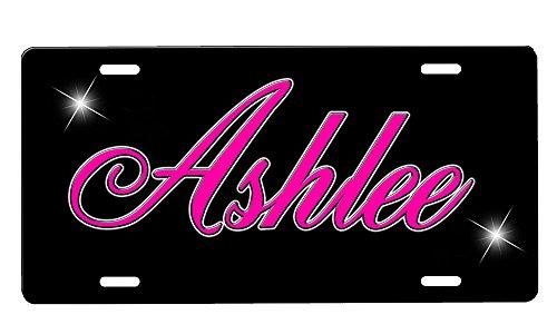 onestopairbrushshop Personalized Custom License Plate