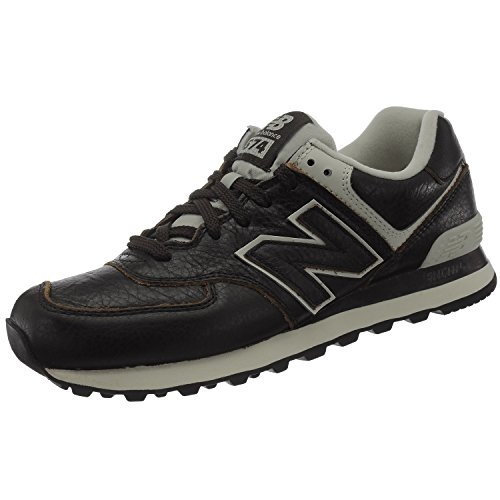 New Balance ML574LUA 574 Leather Barrel Braun|40.5
