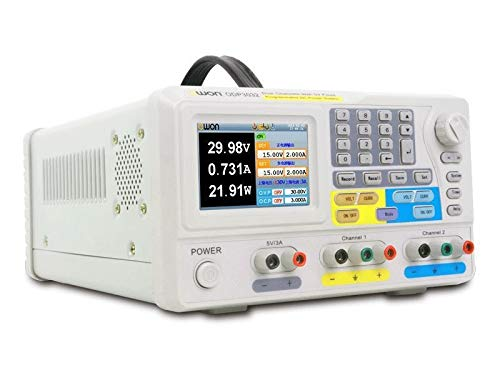 ZJP-dzsw ODP3032 LCD programable DC de alimentación 195W de Potencia 0~30V 0~3A Dual programable Fuente de Corriente Continua