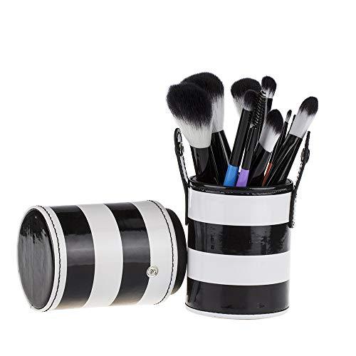 Set De Maquillage Brosse 10 Pièces Pinceau De Maquillage Coloré Brosse De Maquillage Baril Zèbre S-025