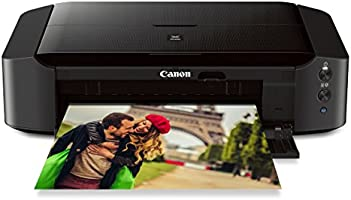 "Canon IP8720 Wireless Printer, AirPrint and Cloud Compatible, Black, 6.3"" x 23.3"" x 13.1"""