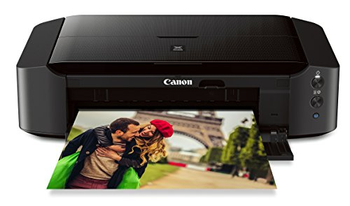 """Canon IP8720 Wireless Printer, AirPrint and Cloud Compatible, Black, 6.3"""" x 23.3"""" x 13.1"""""""