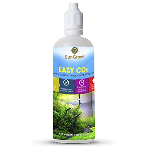 SunGrow Easy CO2 - A Must Have Product For Supplementing Carbon in Tanks : Make Your Aquarium Plants Beautiful & Healthy