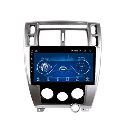 Dscam Coche navegación System Android 9.1 para Hyundai Tucson 2006-2013 Cuatro nucleos 9' HD Pantalla táctil In Dash Car con GPS Sat Nav FM WiFi USB,4G+64G-Eight-Core