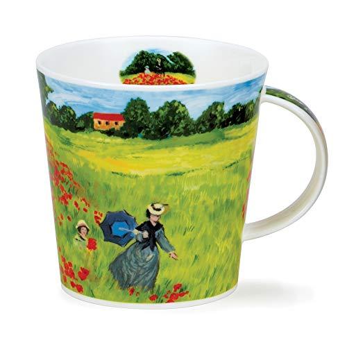 CA-GIVE-PO Giverny Poppyfield Monet - Taza (porcelana, 0,48 L), diseño de Giverny Poppyfield