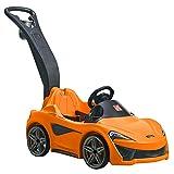 Step2 Mclaren 570s Push Sports Car Kinderauto / Rutscher in Orange | Spielzeug Auto mit...
