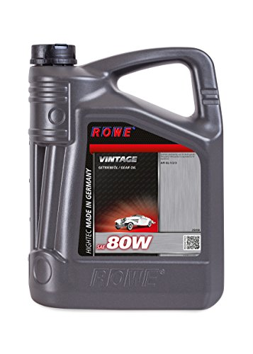 ROWE Hightec Vintage SAE 80W - 5 Liter Oldtimer, Youngtimer Getriebeöl | Made in Germany