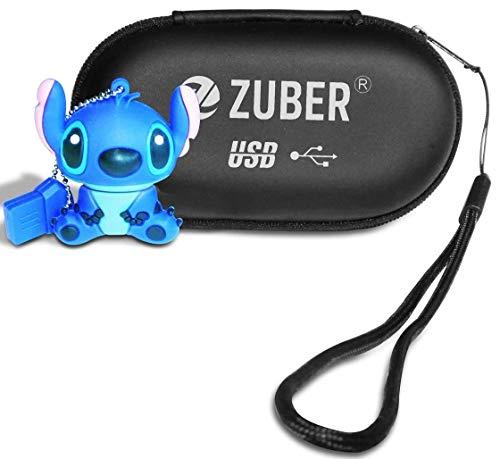 ZUBER® - Memoria USB 2.0 de Punto de Dibujos Animados 16 GB