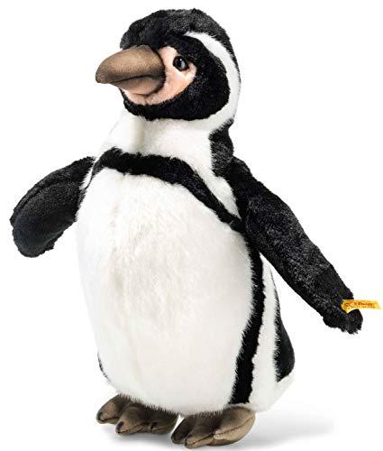 Steiff- Animali Artici-Pinguino, Colore Nero/Bianco, 057113