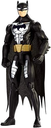 Justice League Figura básica Traje de Acero, Batman, 30 cm (Mattel FP