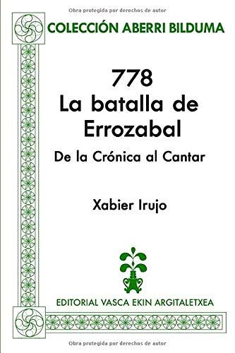 778: La batalla de Errozabal (Colección Aberri Bilduma)
