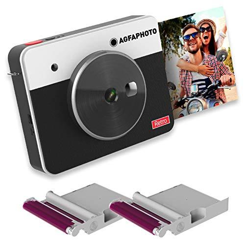 Agfa Foto, Realipix Square S Paper – Sofortbildkamera – Format quadratisch 3 x 3 Zoll + 18 Fotos