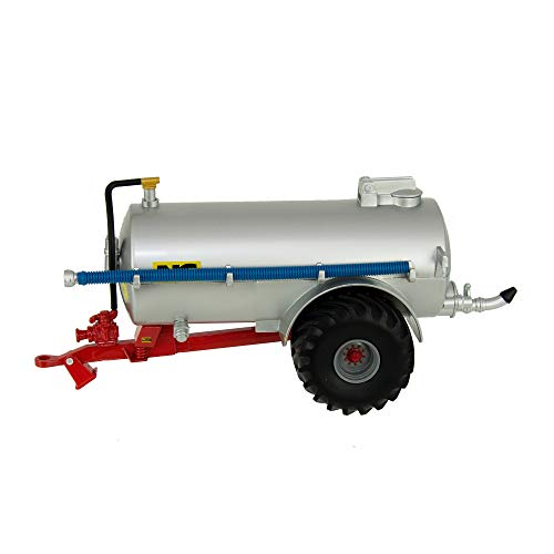 Britains Slurry Tanker (Fieldside), Color Plateado