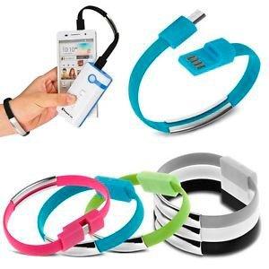 DISOK - Pulsera Micro USB Datos para Cargar Teléfonos. CONEXION Tipo C.
