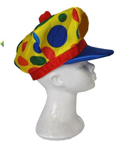 Chapeau de Clown - Taille Unique