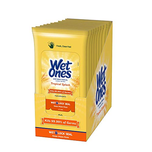 200-Count Wet Ones Antibacterial Hand Wipes  $14 at Amazon