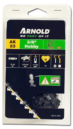 Arnold Sägekette 3/8 Zoll Hobby, 1.3 mm, 44 Treibglieder, 30 cm Schwert 1191-X1-0010