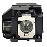 Kingoo Excellent Projector Lamp for EPSON PowerLite HC 710HD Replacement Projector Lamp Bulb with Housing