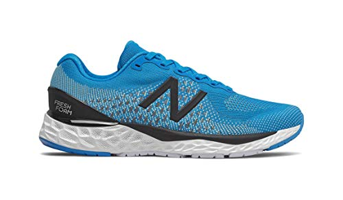 New Balance 880v10 - Running Shoes for Men, Blue (Vision Blue with Neo Mint), 45 EU