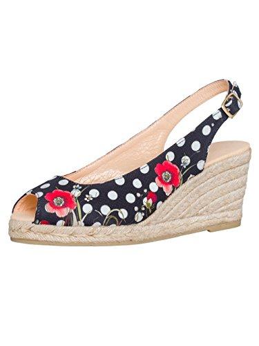 Desigual Damen Designer Peeptoe Schuhe - LALAINA 41