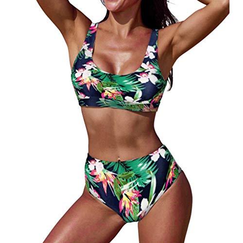 Bikini de braga alta elástico