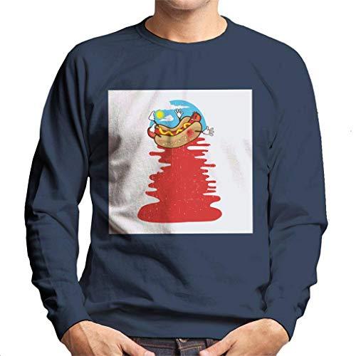 Cloud City 7 Hot Dog Murder sweatshirt voor heren