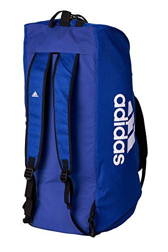 adidas 2in1 Bag Judo Blue/White Cotton...