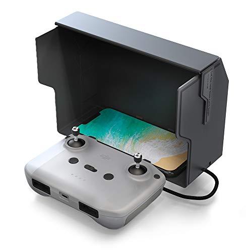 CYNOVA Mavic Air 2/Mavic Mini 2 Remote Control Mount Mobile Phone Sun Hood Sunshade for Mavic Air 2 & Mavic Mini 2 Drone Accessories