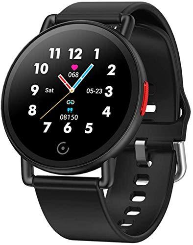 Reloj inteligente de 1.3 pulgadas, compatible con Android/LOS System Fitness Tracker-A