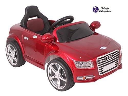 TALREJA ENTERPRISES Battery Operated Ride on Car at-A8 Model with USB and MP3 Functions, with Remote and Charger (RED)