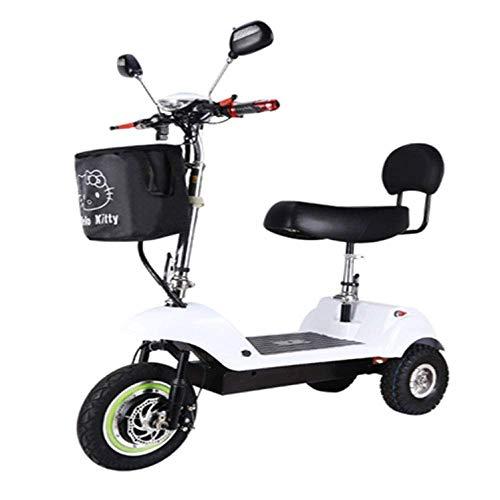 L.HPT L'automobile piegante della Batteria al Litio del Mini Triciclo Elettrico Adulto del motorino Elettrico può sopportare Il Peso 100KG Color Colore Multiplo